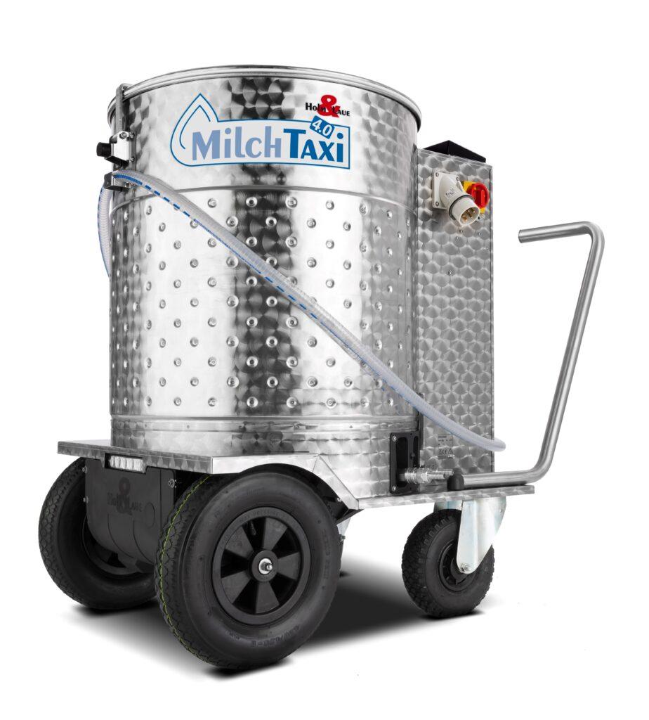Молочное такси с пастеризатором