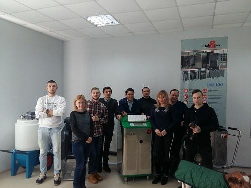 Тренинг по использованию оборудования для выращивания телят