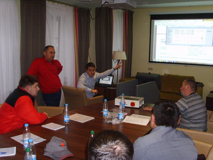 Seminar – training company Holm&Laue