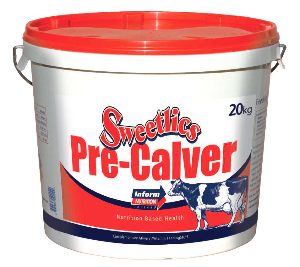 Мінеральна добавка для сухостійних корів Sweetlics Precalver