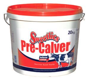 Минеральная добавка для сухостойных коров Sweetlics Precalver