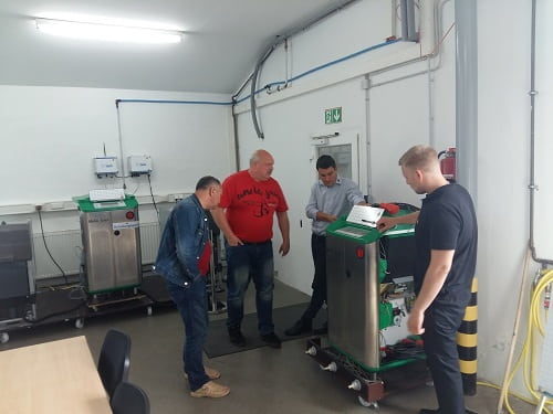 Technical Training in Germany. Holm&Laue Company