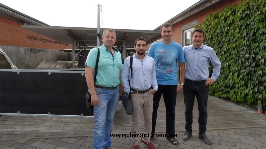 """Training workshop on the topic """"Equipment for feeding of calves"""" from Holm & Laue"""