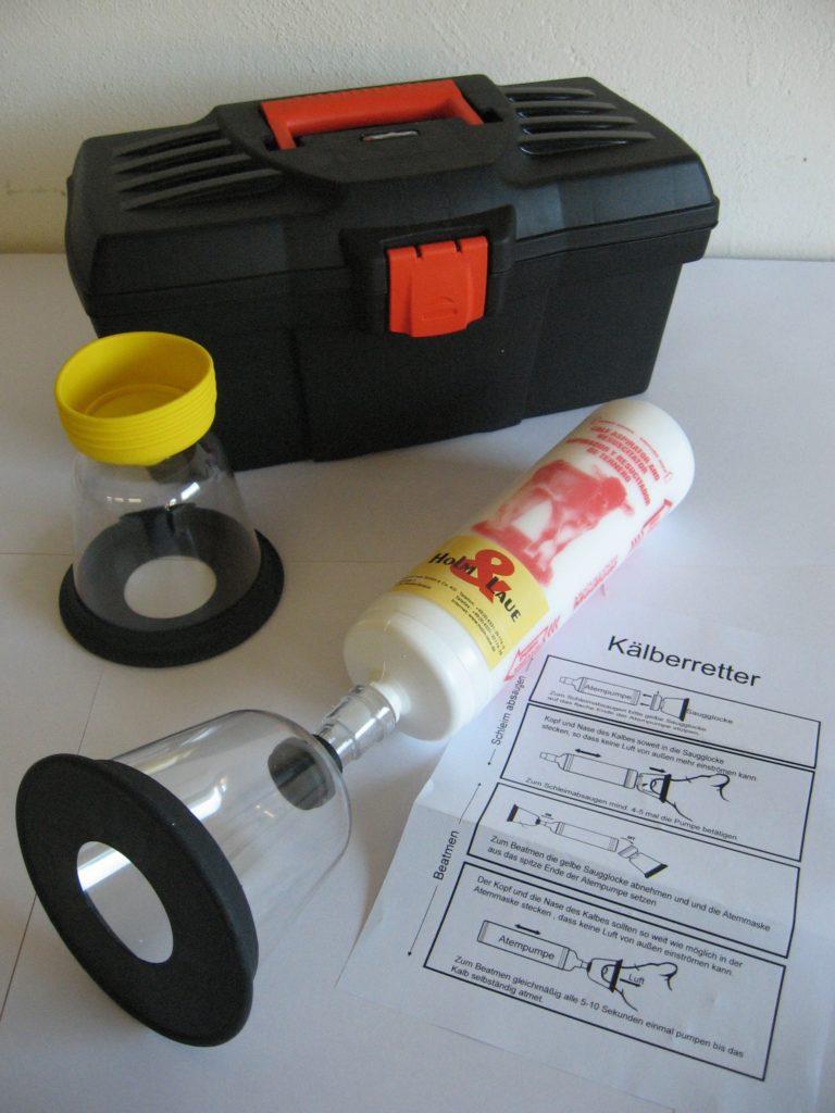 Reanimator for calves (Calfwatl)
