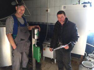 Установка ColoQuick оборудования для менеджмента молозива